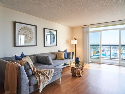 Photo for Beachwood Penthouse Style Spectacular Marina and Ocean View