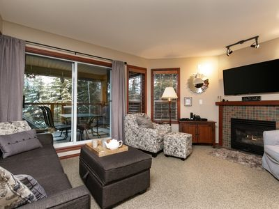 Photo for 42 Glaciers Reach a 2br with hot tub & pool in Whistler Village