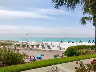 Photo for Gulf Front Condo w/Poolside Patio, Beach Access, & More