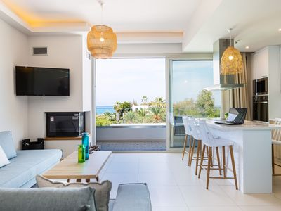 Photo for Adelhome - Sea view & walking distance to beach!