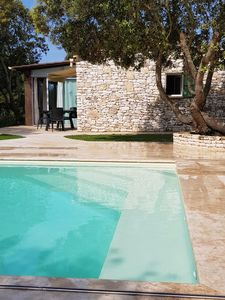 Photo for Charming House in the Bonifacio countryside, with swimming pool - Ideal for 4 people
