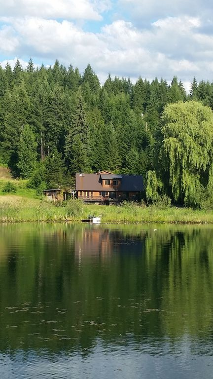 Dutch lake house quiet lake front house with great view for Lake front view