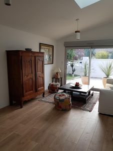 Photo for NEW AND COMFORTABLE STUDIO WITH ACCESS TO SWIMMING POOL AND GARDEN 20MN FROM BORDEAUX