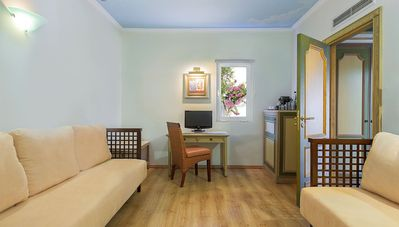 Photo for Fantastic Family Suite Sea View inc 2 bedrooms and 2 bathrooms sleeps upto 4 people
