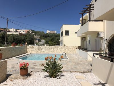Photo for Two bedroom apartment with pool and 5 min walk from the beach