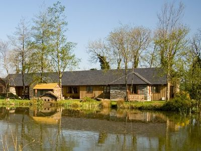 Photo for Ash - Luxury cottage with great views,  with fishing, indoor pool & gym.
