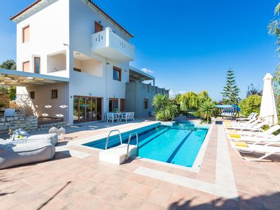 Photo for Tsourlakis Residence! 50m2 pool, gym,  walking distance to shops, total privacy!