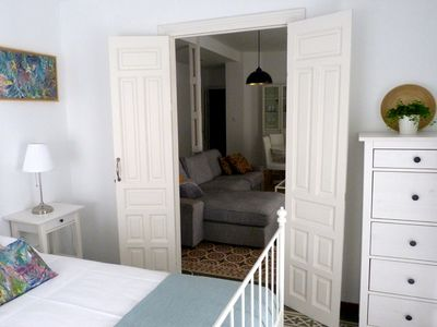 Photo for Very luminous apartment in the corner of the Cathedral, in the Arenal district