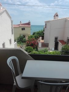 Photo for Beach 50 m. Quiet, barbecue, car available. Bravone Marine