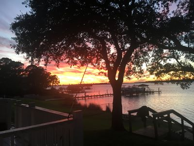Photo for Beautiful Sunsets on Ole River/ Intracoastal waterway with dock and kayaks