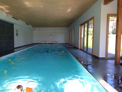 Photo for Villa with a sauna, a fitness room, and an indoor heated swimming pool