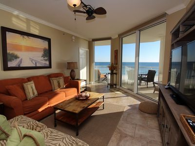 Photo for Palacio 302 - Beach Front View with Large Terrace and Luxurious Interior!