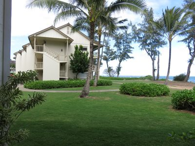 View standing back from lanai.