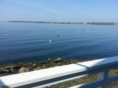 Photo for Amazing Waterfront Views - 4 Bed, 3 Bath Bristol House On Narragansett Bay