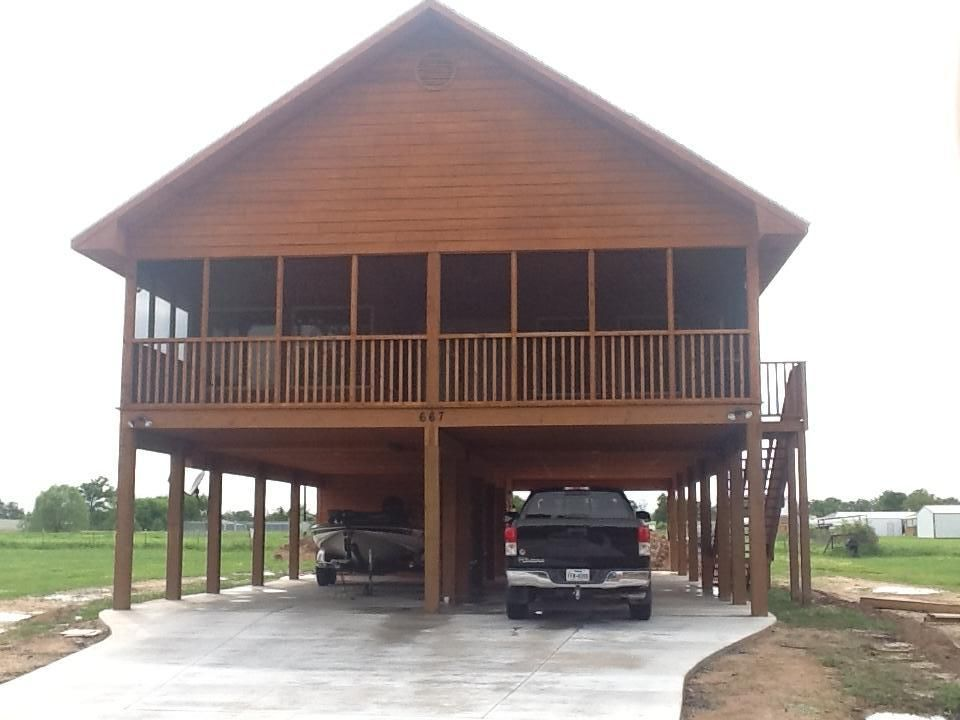 Almost New Cedar House On Stilts Sleeps Vrbo