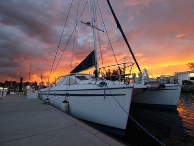 Photo for Sail Boat Catamaran / House Boat/ Key West