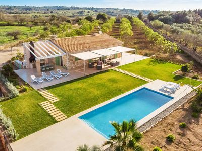 Photo for NEW ! Finca AUBACO, luxury finca with 3 bedrooms, air conditioning and private pool 10 x 4 meters