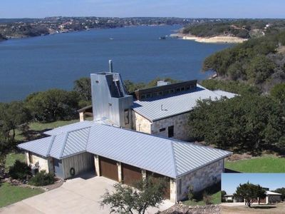 Photo for Luxurious Lake Travis Waterfront, $1 million views, Austin, Pool, Boat Dock