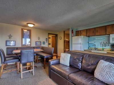 Photo for Cozy condo w/ shared hot tub & plenty of room for large group - ski-in/ski-out!