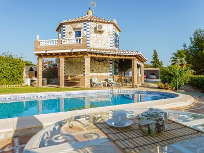Photo for BEAUTIFUL DESIGN VILLA W/PRIVATE POOL AND WONDERFUL VIEW