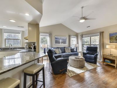 Photo for This cheery and sun-filled, 2 bedroom, 2 bath, country- style, pet friendly, townhome offers wonderf
