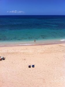 """""""Secluded Beach with Crystal Clear Waters"""" View from of the Condo"""