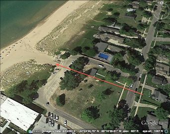 Large with beach access 2-3King /2 -3Bath cottage, lake view, beach