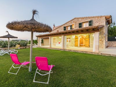 Photo for Peaceful location with garden - Villa Can Ferrer