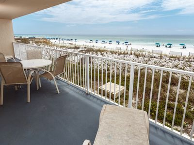 Photo for Great Beachfront Condo, Shared Pool & Tennis Courts, Quick Drive To Dining