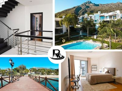 Photo for Rooftop Villa With 4 Floors In Sierra Blanca, Sea View, Spa & Private Pool! ✔