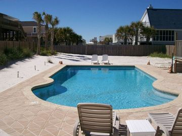 20' x 40' Gunite Pool Largest PRIVATE Pool on the beach
