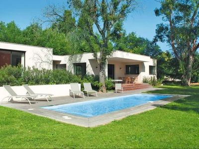 Photo for Beautiful villa in the center of Beauvallon Golf with pool