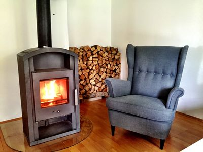 Photo for Beautiful fireplace apartment, ideal location for day trips