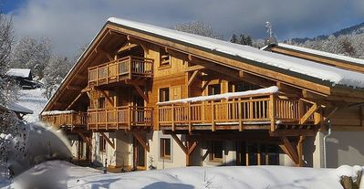 Photo for 2 Bedroom Apartment In Samoens With Private Garden