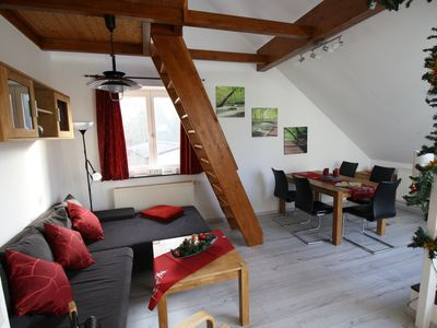Photo for Cozy 2-room apartment for up to 5 people, 3rd floor, pets welcome