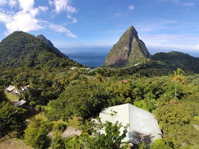 Welcome to the Coco Pitons Villa...