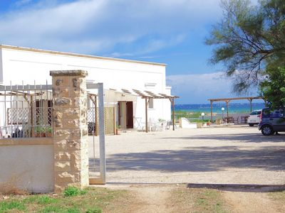 Photo for Ancient Summer Hostel only 70 m v. Ocean - the beaches virtually on the doorstep