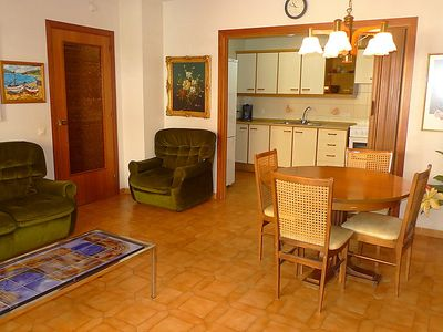 Photo for Apartment Voramar 01 in L'Ampolla - 6 persons, 3 bedrooms