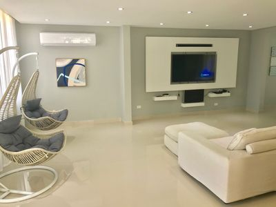 Photo for AMAZING BRAND NEW  LUXURY VILLA LUQUILLO BEACH AND RAINFOREST , 30 PEOPLE