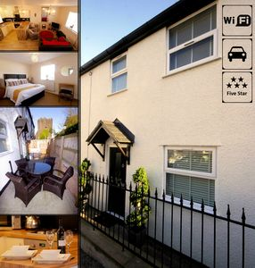 Photo for Knight Rest Cottage Conwy - 5 Star Reviews Boutique Cottage (parking & wifi)
