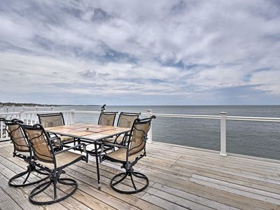Photo for Oceanfront 3BR Scituate Home w/2-Level Deck &Views