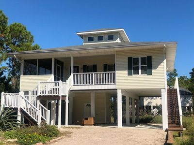 Photo for Book Summer and Fall Bay View,Golf Cart, Pet Friendly, beach toys, kayaks