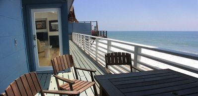 50 feet of continuous balcony and deck