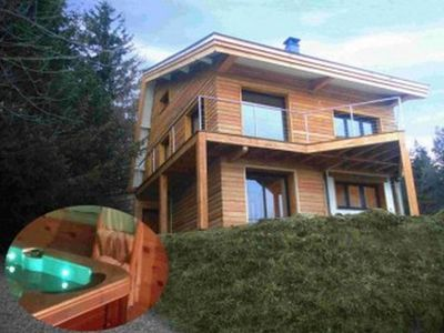 Photo for Font Romeu- Pyrenees 2000- Luxury chalet 8 people - Mountain View
