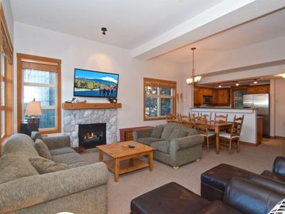 Photo for MOUNTAIN VIEWS in SPACIOUS Family Home with PRIVATE HOT TUB. SKI IN/SKI OUT