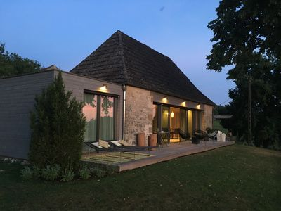 Photo for Sublime Villa in the heart of Black Périgord with swimming pool