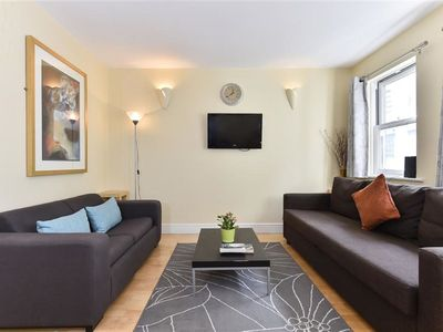 Photo for Cosy apartment for 2 guests with WIFI and TV
