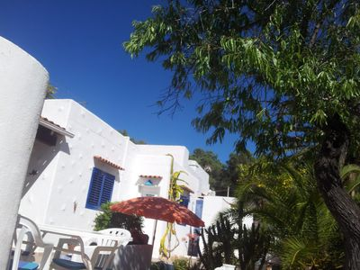 Photo for Cala Llenya - Cottage on the sea with enclosed garden