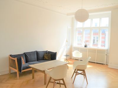 Photo for Beautiful 3-Bedroom Apartment in a fashionable part of Copenhagen- Frederiksberg