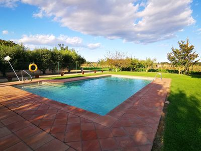 Photo for Pleasant Holiday Home in Gerona with Swimming Pool